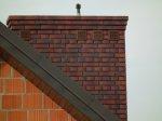komin z cegły klinkierowej