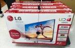 telewizory w opakowaniach